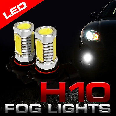 2x H10 9145 9140 6000K LED Replacement Fog Driving Light Bulb White