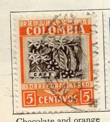 Colombia 1932 Early Issue Fine Used 5c. 113088