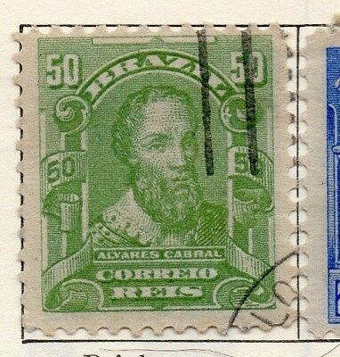 Brazil 1915-16 Early Issue Fine Used 50r. 113235
