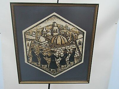 Framed and Signed Print  by Samuel Nisenbaum Limited Edition 10/56