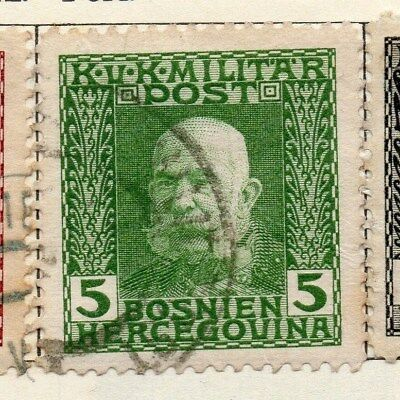Bosnia Herzegovina 1912 Early Issue Fine Used 5h. 113393