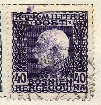 Bosnia Herzegovina 1912 Early Issue Fine Used 40h. 113401