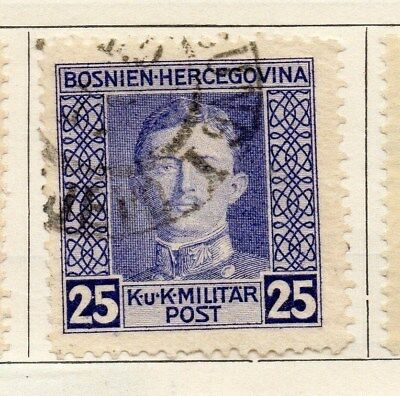 Bosnia Herzegovina 1917 Early Issue Fine Used 25h. 113418