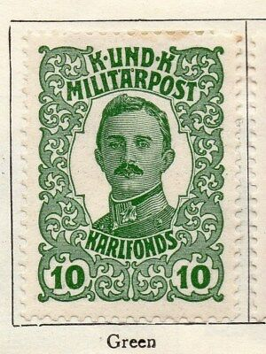 Bosnia Herzegovina 1918 Early Issue Fine Mint Hinged 10h. 113428
