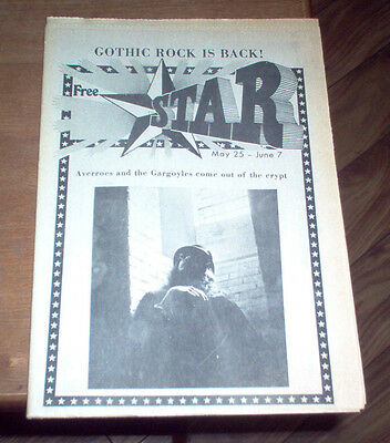 The Star Cleveland OH Underground Newspaper 1973 David Bowie Paul McCartney Rare