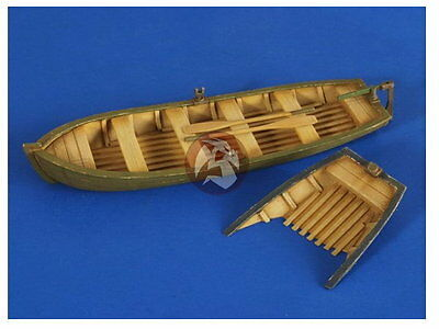 Verlinden 1/35 VP 2619 2 large Rowing boats , of which one sunk