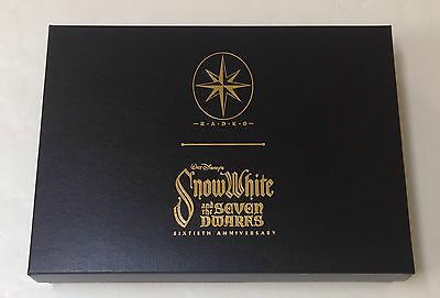 NIB Christopher Radko Snow White Limited Edition Ornament Box Set 186/500 Signed