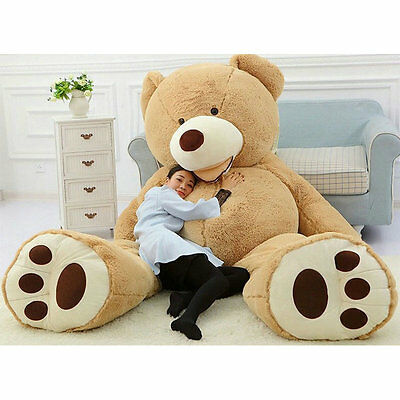 200cm Super Huge No Filler Animal Teddy bear Plush Soft Toy 78'' Saving Shipping