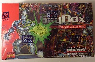 Marvel Universe Series IV 4 Skybox 1993 - Factory Sealed Box - Trading Cards
