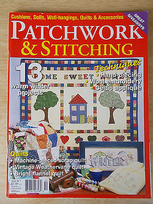 Patchwork & Stitching Vol 6 #7~Quilts~Dolls~Wall-Hangings~My Sewing Room~Table