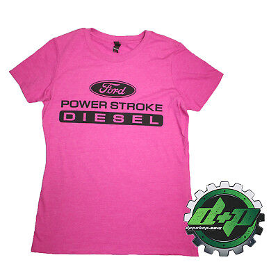 Ford powerstroke Ladie fit shirt tee short sleeve diesel gear power stroke truck
