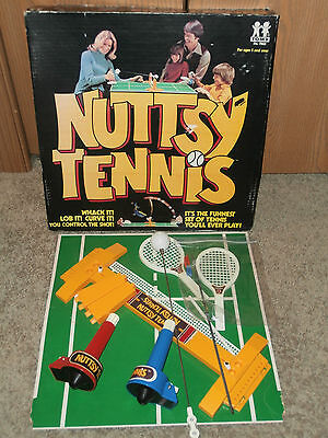 """""""NUTTSY TENNIS""""  game by TOMY, 1974"""