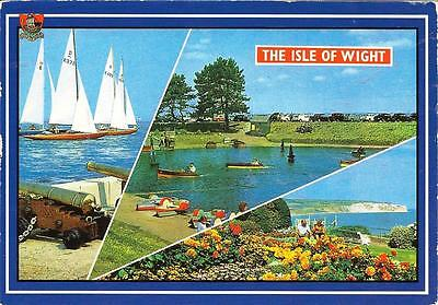 Isle of Wight - Views- Posted Postcard