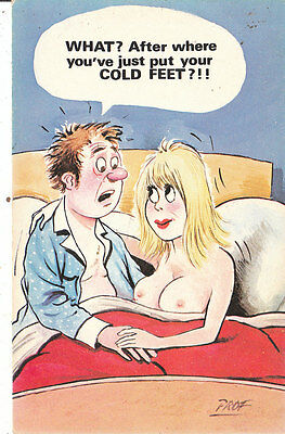 Cardtoon comic postcard prof/sex  no c21 unused very good/mint Original