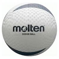 New Molten Indoor/Outdoor White Dodgeball Soft Touch White