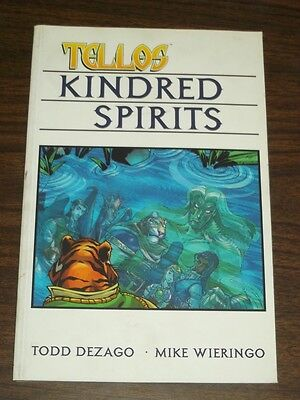 Tellos Kindred Spirits Vol 2 by Todd Dezago (Paperback)< 9781582402314