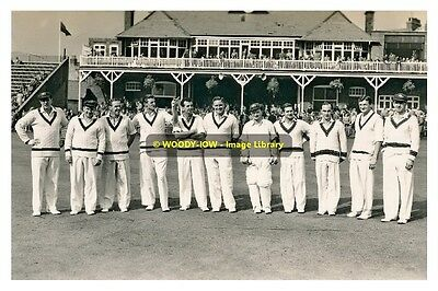 rp9486 - Australian Cricket Team at Scarborough in 1956 - photo 6x4