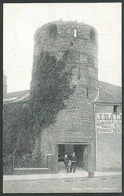Great Yarmouth Norfolk South Tower 1905 Printed Postcard