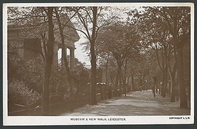 Leicester Museum & New Walk 1915 PN Series Real Photo Postcard