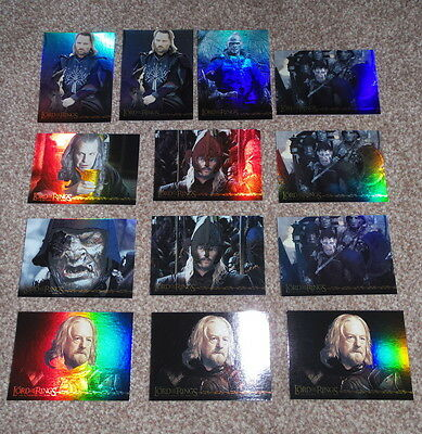 Lord of the Rings - Return of the King - Dubs of Shiney Rainbow Trading Cards