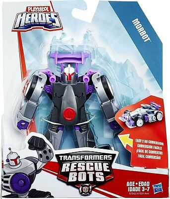 "Playskool Heroes Transformers Rescue Bots - Morbot 5"" Figure"