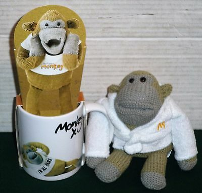 Most Famous Monkey Ceramic Mug & Biscuits Set With Pg Tips Chimp In Bath Robe