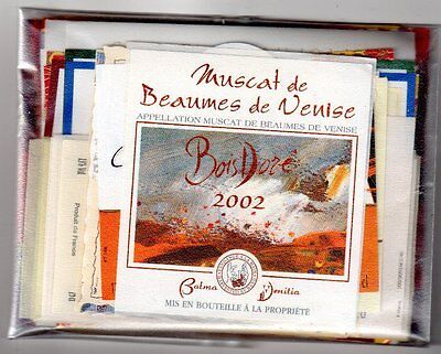 Beautiful Lot 6 Of 100 Very Attractive French Wine Labels - Free Shipping