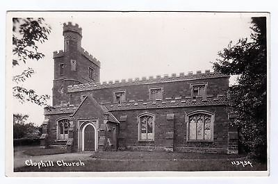 P3189 Original old RP postcard of Clophill Church, Bedfordshire
