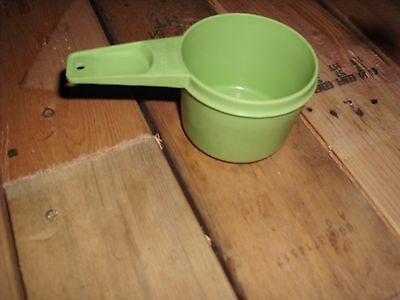 Vintage Tupperware Replacement Lime Green Measure Cup 3/4 Cup #762