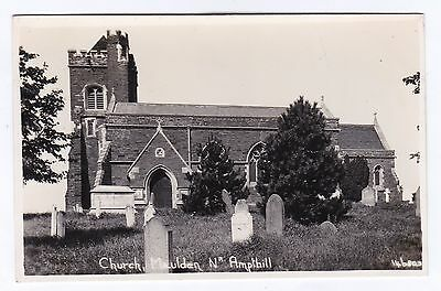 P3192 Original old RP postcard of Maulden Church, Bedfordshire