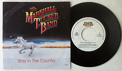 """THE MARSHALL TUCKER BAND 'Stay In The Country' 1990 Dutch 7""""/45 rpm vinyl single"""