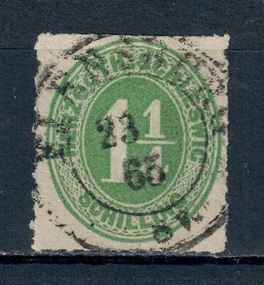 Schleswig Yvert n° 19 used. VF. Value 25 euros.