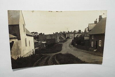 Leicester postcard Barsby Village, Leicestershire, Main Street