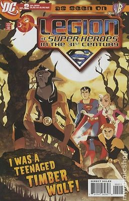 Legion of Super-Heroes in the 31st Century (2007) #2 FN