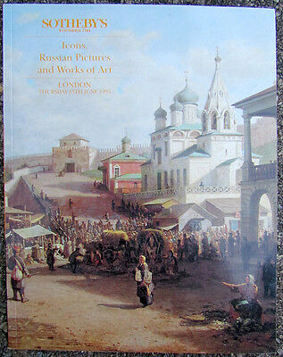 1995 Icons, Russian Pictures & Works Of Art Sotheby's Auction Catalogue Book