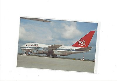 Air Malawi airlines issued? boeing 747SP postcard