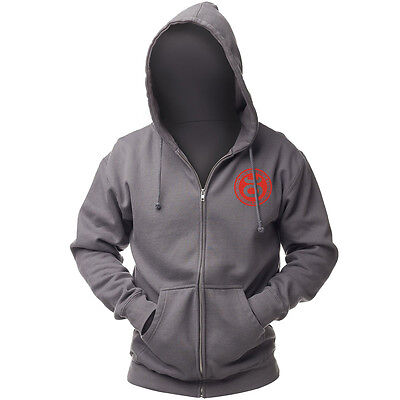 Jaco Athletics Team Hoodie-Charcoal/Red-Small