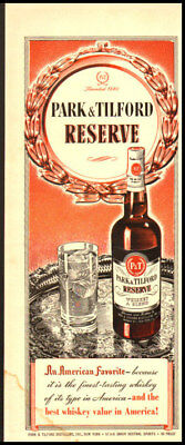 1948 Vintage ad for Park and Tilford Whiskey -265