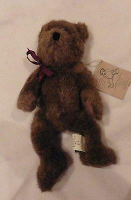 New Bartholemew Bear J B Bean investment collectible Boyds Bears rare UK seller