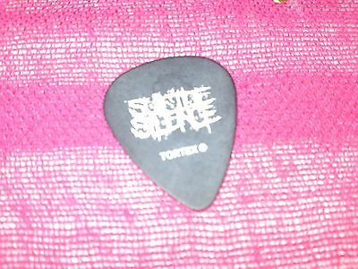Suicide Silence Personal Plectrum (Chris Garza) Used@download Festival 2011