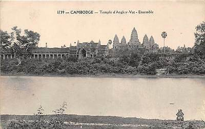 ANGKOR WAT, CAMBODIA ~ TEMPLE BUILDINGS OVERVIEW ~ c. 1904-14
