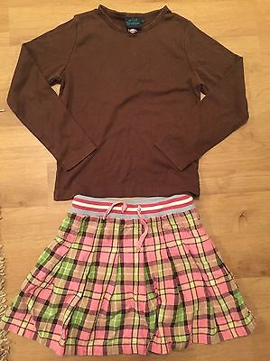 ⭐️Mini Boden Girls Top & Skirt Set Bundle Outfit - Suit 7 - 8 Years⭐️