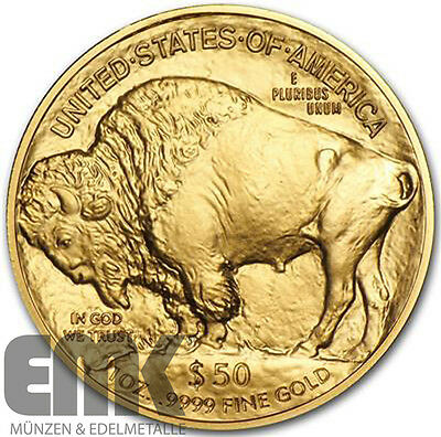 USA - 50 Dollar 2016 - American Büffel / Buffalo - 1 Oz. Gold stgl. - NGC MS-70