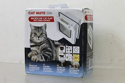 BNIB PETMATE Cat Mate Super Selective MicroChip-Responsive Cat Flap Door