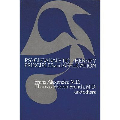 Psychoanalytic Therapy: Principles and Application (Bis - Alexander, Fran NEW Pa