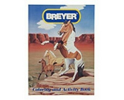 Breyer Horses Coloring AND Activity Book #7000CB NEW!