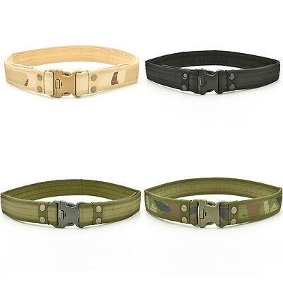 New Outdoor Woodland Camo Waistband Tactical Hunting Outdoor Sports Belt ESUS