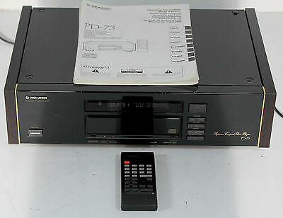 Pioneer Urushi PD-73 High End Reverence CD Player