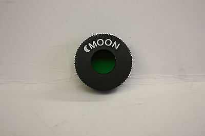 "Deluxe Economy Metal .965"" telescope eyepiece moon filter Great Value! NEW!"