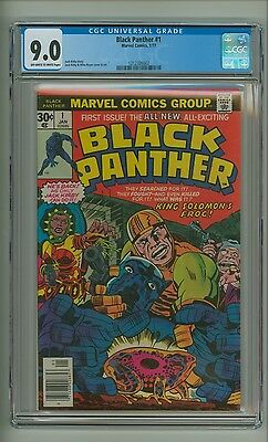 Black Panther #1 (CGC 9.0) OW/W pages; Jack Kirby; Marvel Comics; 1977 (c#12049)